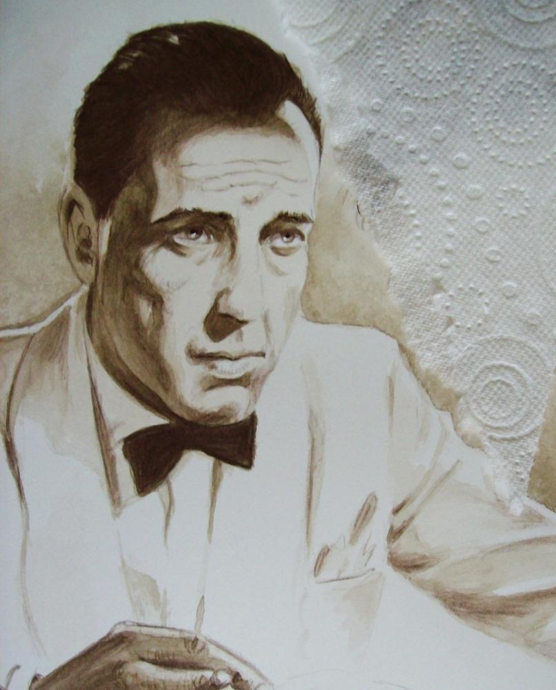 Humphrey Bogart by Tom-Heyburn